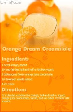 Orange Dream Creamsicle Recipe smoothie recipe recipes easy recipes smoothie recipes smoothies smoothie recipe easy smoothie recipes smoothies healthy smoothies healthy smoothie recipes for weight loss