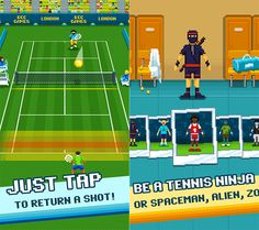 Mobile Game Roundup: One Tap Tennis Monster Builder and More