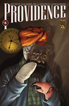 Providence issue 8 - limited edition weird pulp cover. Alan Moore, Jacen Burrows (Avatar Press)