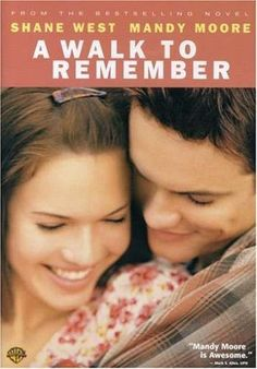 A Walk to Remember (2002) Poster - starring Mandy Moore and Shane West