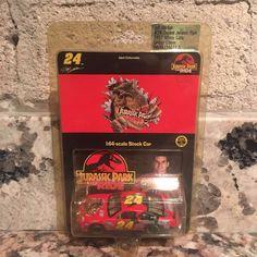 Jeff Gordon No. 24 DuPont Jurassic Park 1997 Monte Carlo 1:64 Die Cast Car | eBay