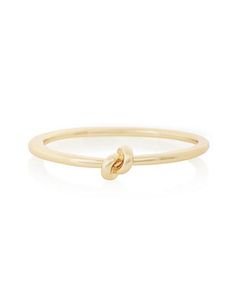 have this in silver but it's sooo cute in gold!!  Magnetic Knot Bracelet from THELIMITED.com