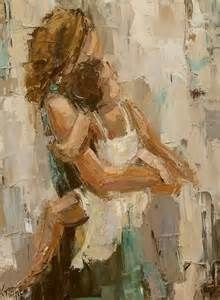 """Daily Painters of Georgia: """"MAMA"""" by Kathryn Morris Trotter"""