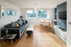 Chic East London apartment w/ view of Shard - Flats for Rent in Greater London, England, United Kingdom Ideal Home, House, Home, Flat Rent, London Apartment, Vacation Apartments, House Rental, 1 Bedroom Apartment, Buying Property