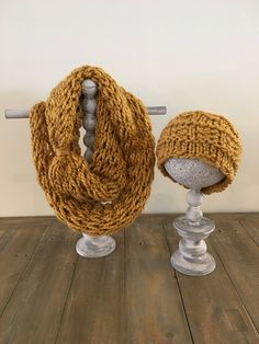 Your place to buy and sell all things handmade Bow Accessories, Knitting Accessories, Crochet Scarves, Knit Crochet, Golden Crown, Gold Hands, Ear Warmers, Neck Warmer, Fiber Art