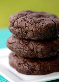 Chocolate Chocolate Chip Cookies!