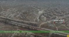 Noticia Final: Vídeo mostrando as operações da SAA em Aleppo Orie...