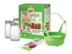 The 6 piece Ball®Canning Discovery™ Kit has all of the tools you need to start canning!