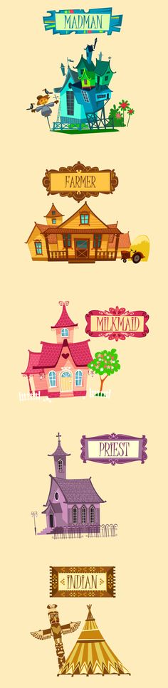 House Cartoon Animation Awesome 24 Ideas For 2019 Bg Design, Prop Design, Game Design, Building Illustration, House Illustration, Cartoon Background, Animation Background, Vitrine Design, Cartoon House