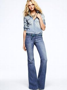 Victoria's Secret VS Belle Flare Jean       $69.50