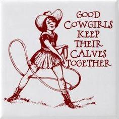 Cowgirls helper