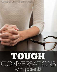 How to Have Tough Conversations with Parents in Preschool and Kindergarten. Talking to parents about the possibility of a developmental delay or disability is TOUGH! Here are the top tips from an expert that will help make those tough conversations much easier!