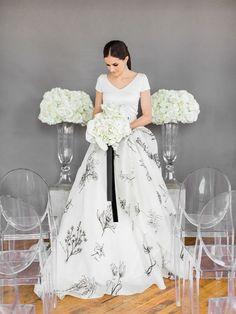 Clean and Modern Wedding Ceremony Design