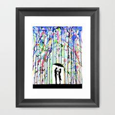 Love it !    Pour Deux Framed Art Print by Marc Allante - $35.00