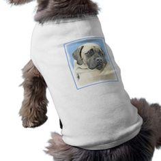 #English Mastiff (Fawn) Shirt - #puppy #dog #dogs #pet #pets #cute #doggie #doggieshirt