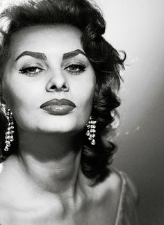 """Being beautiful can never hurt, but you have to have more. You have to sparkle, you have to be fun, you have to make your brain work if you have one."" - Sophia Loren"