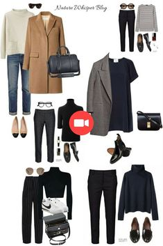 style: My simple yet chic autumn .- Personal style: My simple yet chic fall style picks – MadeByHind - style: My simple yet chic autumn .- Personal style: My simple yet chic fall style picks – MadeByHind - What to Wear to Paris in the Fall Capsul. Capsule Outfits, Fashion Capsule, Mode Outfits, Fall Outfits, Fashion Outfits, French Capsule Wardrobe, French Wardrobe Basics, French Minimalist Wardrobe, Minimalist Fashion French