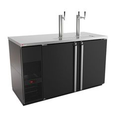 Pro-Line E-Series Direct Draw Keg Refrigerator with Glass Rinser