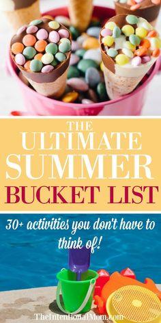 Summer Fun | Family Fun | Kids Activities | Family Fun Ideas | Boredom Busters | Keep Kids Busy via @www.pinterest.com/JenRoskamp