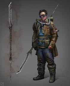 Possible Buzzard Costume. Chieftain by PavellKiD on DeviantArt Post Apocalypse, Apocalypse Survivor, Apocalypse World, Zombie Survivor, Character Concept, Character Art, Concept Art, Cyberpunk, Arte Zombie