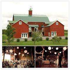 Barn venues in Ontario. Fields on West Lake, Bloomfield, Ontario