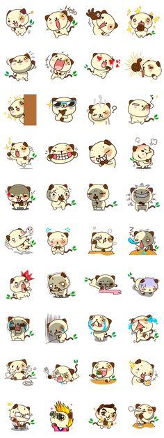 #LINE #Sticker - Developer: pandadog.net || Sticker packet name: Panda Dog คุณสามารถใช้สติ๊เกอร์ไลน์ ยอดนิยมได้ด้วยการดาวน์โหลด LINE แอพพลิเคชั่น  แชท โทรฟรีผ่านเน็ต สติ๊กเกอร์ไลน์ แอพ LINE เป็นแอพที่ใช้ติดต่อ สื่อสาร  ที่สามารถทำให้คุณแชทพูดคุย กับเพื่อน ญาติพี่น้อง คุยธุรกิจ  ขอนำเสนอ สติ๊กเกอร์ไลน์ ภาษาเหนือ บั๊กกิ ก๊อดจิ  https://store.line.me/stickershop/product/1032052/en