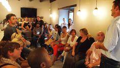 Reyneke presenting at