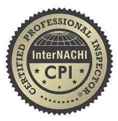 "InterNACHI awarded ""Certified Professional Inspector (CPI)"" Federal Certification Mark. - InterNACHI"