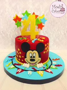 Mickey Mouse Theme Party, Mickey Mouse Birthday Cake, Mickey Mouse Cupcakes, Baby Boy 1st Birthday Party, Carnival Birthday Parties, Mickey Mouse Clubhouse, Minnie Mouse, Mini Mouse Cake, Carnival Cakes