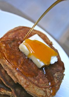 paleo gingerbread pancakes (its like fall in your mouth)