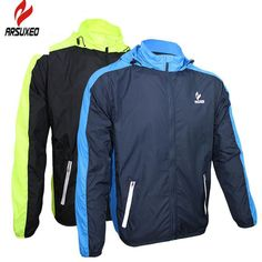Cheap raincoat leather, Buy Quality clothing paint directly from China clothing Suppliers: ARSUXEO Waterproof Cycling Jerseys Rain Coat Ropa Ciclismo Wind Coat/Windproof Windcoat Bicycle Clothing MTB Bike Cycle Raincoat Mens Raincoat, Jersey Outfit, Bicycle Clothing, Rain Gear, Running Jacket, Mtb Bike, Cycling Jerseys, Cycling Outfit, Hoodie Jacket