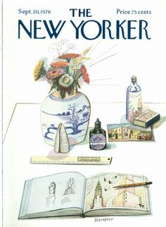 Saul Steinberg The New Yorker Digital Edition : Sep 20, 1976