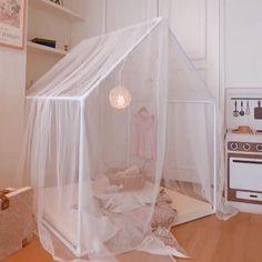 Kids Canopy, Kids Tents, Room Ideas Bedroom, Baby Room Decor, House Beds For Kids, Kids Room Design, Little Girl Rooms, Cabana, Summer Heat