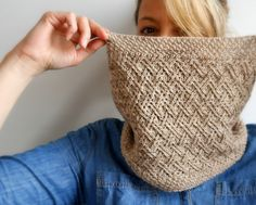 If you love rich texture, Kindling will be your new favorite cowl. The beautiful pairing of double seed and twisted lattice stitches create gorgeous visuals in this single-skein project.