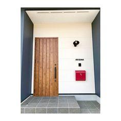Japanese Door, Japanese House, House Entrance, Entrance Doors, House Front, My House, Simple Modern Interior, House Wall, California Style