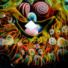 Psychedelic ball by Mike Gong - Acid Eater