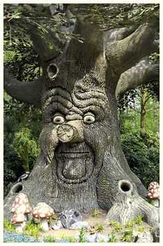 De Efteling, Netherlands. I used to talk to the tree in McDonalds like this one. Not the same coolness!