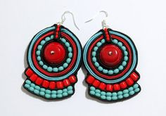 Greetings from Tibet  Ethnic Tribal Hand Embroidered by Herinia, $37.00