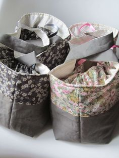 need to sew myself some for knitting bags!