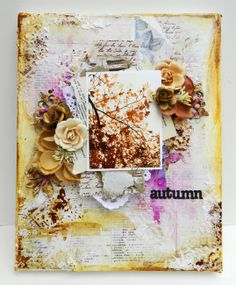 Magnifique Mixed Media November Kit w/Erin Blegen - Cest Magnifique Kits