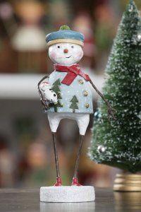 Flurry Snowman designed by Lori Mitchell TheHolidayBarn.com Christmas Decorations