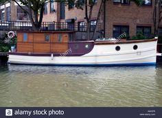 Dutch Barge At Grand Union Canal London Uk Stock Photo, Royalty Free Image: 2036599 - Alamy