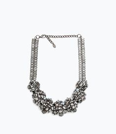 SHINY STONE NECKLACE-Jewellery-Accessories-WOMAN | ZARA United States