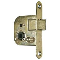 Zámok TESLA ZS04 L 90/60/40 Zn, WC Door Handles, Door Knobs, Door Knob