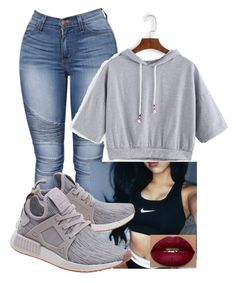 """""""schooly"""" by bbylex23 ❤ liked on Polyvore featuring adidas Originals"""