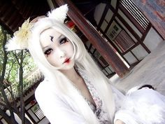 cosplay make up, make up. cosplay,white make up,lady cosplay