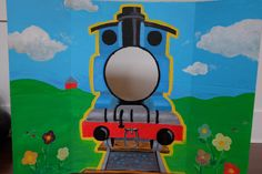 Thomas the Train Photo Booth!