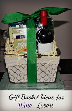 Easter basket gift ideas for teens mycharge chargers are a hit gift basket ideas for wine lovers negle Images