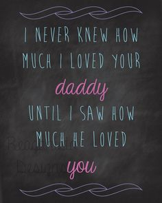 Outlook on a fathers love for his girls