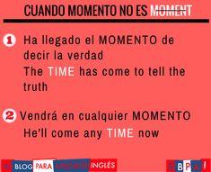 """""""Cuando MOMENTO no es MOMENT"""""""